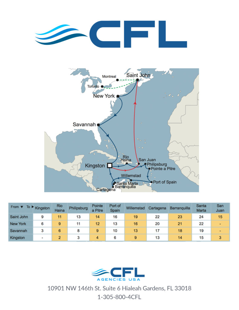 Route Maps - CFL Agencies USA